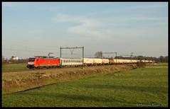 DBC 189 086+UC 45752 te Eempolder (MyronvRuijven) Tags: db cargo uc mvv unit 189 schenker dbc rijtuig seelze kfh eempolder kijfhoek 45752