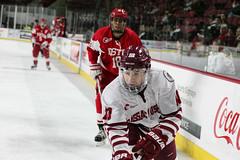 Hockey vs. BU (dailycollegian) Tags: umass bostonuniversity collegehockey umasshockey shanewalsh shannonbroderick