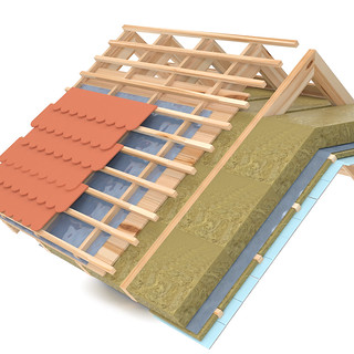 3D Roof Section