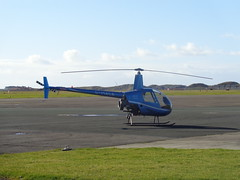 G-MACA Robinson R22 Beta II Helicopter at Blackpool Airport (j.a.sanderson) Tags: airport helicopter blackpool robinson r22 betaii gmaca
