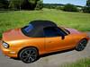 Mazda MX5 NB Verdeck 1998-2005 Einteiliger Akustik-Luxus-Verdeckbezug