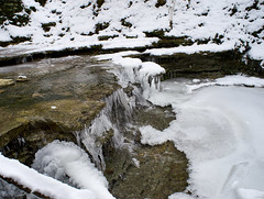20160212_DSC0647 (Todd Plunkett) Tags: ohio usa snow water weather river waterfall unitedstates parks clearcreektownship patriciaallynpark