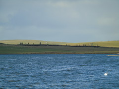 Ring of Brodgar (stuartcroy) Tags: sea sky beautiful stone standing island scotland still orkney stenness scenery sony ring loch ringofbrodgar brodgar