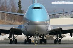 HL7412 - Boeing 747-4B5(BCF) - Korean Air Cargo (KarlADrage) Tags: alaska anchorage boeing anc 747 jumbo cargolux 747400 bcf qots panc koreanaircargo 7474b5 hl7412 lxacv tedstevensintl