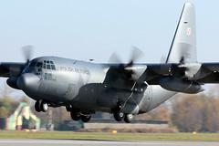 C-130E 1503 (Jacek W) Tags: force air poland polish hercules poznan krzesiny zlot c130e