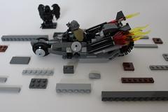 Departure (TH3_J03Y_G) Tags: shadow urban black bike angel death lego sniper sector motor custom departure wanderer slums minifigure apoc moc postapocalyptic