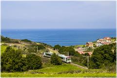 FEVE, el tren del Norte (440_502) Tags: gijn cudillero crespo ancho 032 carreo renfe pravia asturies sanz feve 435 xivares 3532 6532 mtrico