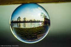 Nature 11-03-'16 (Diverse-Media.nl) Tags: diversemedianl diverse diversemedia media nature natuur glass glas glazen glazenbol bol ball sphere kristal sky dmnat dmsph