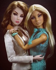 #Frienemies #TrulyMadlyDeeplyAgnes #ForceOfNatureAgnes #agnesvonweiss  #BaronessAgnes  #tropicaliaconvention #hungarianskintone  Love and Kisses, #ArtRyan / #TheDollHolic  #FashionRoyalty #FashionRoyaltyDolls #IntegrityToys #Doll #Dolls #LifeIsPlastic #OO (Art_Ryan) Tags: nature fashion square doll dolls force von squareformat convention blonde agnes truly weiss royalty tanned tropicalia madly deeply of fashionroyalty integritytoys agnesvonweiss iphoneography instagramapp uploaded:by=instagram trulymadlydeeplyagnes forceofnatureagnes