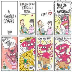 a namorada do fotografo (Saulo Cruz) Tags: comics sketch girlfriend cartoon sketchbook namorada devil draw fotografia desenho fotgrafo tirinha cartum quadrinhos cimes demnio fototiras