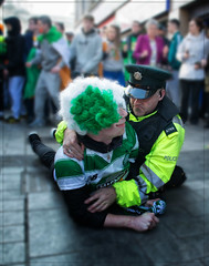 oh fancy meeting you here.. (teedee.) Tags: day police belfast stpatricks arrest 2016 psni