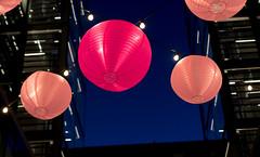 Pink Lights (vpickering) Tags: pink light festival lights dc festivals citycenter cherryblossomfestival citycenterdc