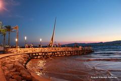 1-IMG_4298 (ric.alleraff) Tags: espaa mer mar ciel crpuscule salou crepsculo longuepose basselumire