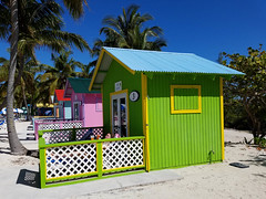 """Sea Grape"" Escape (grinnin1110) Tags: outdoor palmtrees northamerica caribbean bahamas eleuthera cabanas princesscays beachbungalow privatebungalow cruise2016 privateportofcall"
