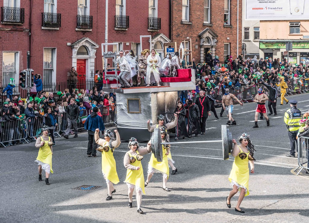 GAME ON BY CITY FUSION [DUBLIN 2016 PATRICK'S DAY PARADE]-112572