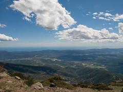 Vista desde el Tur de l'Home 2 (juancarlosysissi) Tags: mar catalonia autopista catalunya montaa a7 montain catalua montanya ap7 turdelhome serraladadelamarina