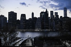 Coucher de soleil sur Manhattan, 3 (Patrick.Raymond (2M views)) Tags: nyc usa nikon manhattan hdr expressyourself