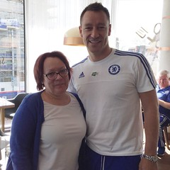 JT and me (cfcunofficial) Tags: chelsea jt chelseafc cfc johnterry chelseadebs cfcunofficial