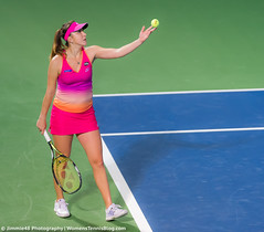 Belinda Bencic (Jimmie48 Tennis Photography) Tags: sport dubai tennis unitedarabemirates wta 2016 belindabencic dubaidutyfreetennischampionships