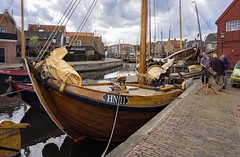 Old fishing Port. (Wouter van Wijngaarden) Tags: en haven holland water dutch port boats harbor boat fishing flickr utrecht village place harbour outdoor sony nederland thenetherlands eu historic sail shipyard ports oude wout schans dorp harbours huizen 1916 spakenburg nieuwboer oldvillage bunschoten oudehaven reparatie provincie sailers oldharbor gebouwd u vissersdorp randmeren rijksmonument randmeer eemmeer oorspronkelijk vakmanschap scheepshelling oldfishingport a6000 hn11 woutervanwijngaarden reparatiewerf blunter hz11 the100photographer oorspronkelijkgebouwdin1916inhuizendehz11 scheepstimmermannen 1932hn11 1916hz11 scheepstimmerlui the100photographers