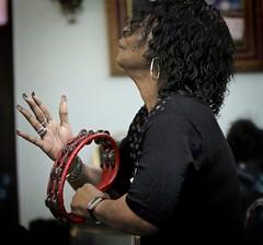 Praise (twobytwofilms) Tags: music tambourine gospel praise