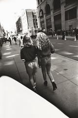 AA032 2 (heavyasmountains) Tags: nyc newyorkcity blackandwhite slr film 35mm photography nikon candid streetphotography noflash 24mm fm3a filmphotography streetstyle