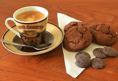 Biscuits au chocolat 1 (frankthewood63) Tags: coffee cookies dessert chocolate biscuit chocolat 2016