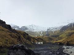 Iceland (Clayton Eddins) Tags: mountain iceland hotspring thermal iphone hiddenpool