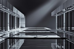 [From the Series: Urban Facade Abstractions] (Thomas Bonfert) Tags: urban abstract architecture reflections symmetry