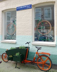 WorkCycles-Bloemenbakfiets-2 (@WorkCycles) Tags: flowers orange plants dutch amsterdam bike groen planter grachten bloemen lijnbaansgracht cargobike bakfiets bakfietsen goudsbloemstraat workcycles kr8