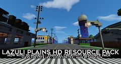 Lazuli Plains 3D Models Resource Pack 1.9.2/1.9/1.8.9 (MinhStyle) Tags: game video games gaming online minecraft