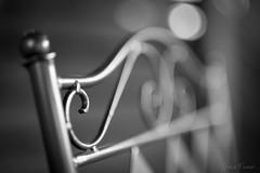 Garden chair... (Hans-Franz) Tags: classic canon blackwhite bokeh 5d noirblanc gardenchair gartenstuhl schwarzweis chaisedejardin sigma50mmart