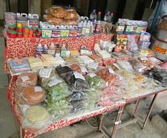 Papads stall at Pali Market (Sachin Baikar) Tags: india temples maharashtra pali ganpati ashtavinayak maharashta ballaleshwar ballaleshwartemple palimarket photographybysachinbaikar