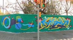 Once-TashMe (VatuaL'Olla) Tags: barcelona graffiti bcn hiphop once hip hop graff menorca ma tash banyoles m 2016 lolla vlo vilafreser tashme vatua vatualolla