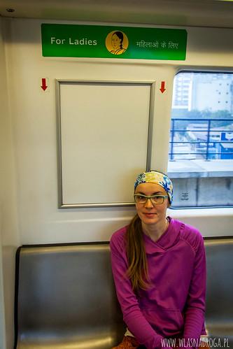 Miejsca w metrze tylko dla kobiet