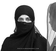 (Ibrahim Nagi) Tags: friends pakistan portrait people white black eye love beautiful smile photography photo eyes nikon women photographer random top candid tag muslim islam religion hijab best pakistani contact niqab ness nagi brahim pahore ibrahimnagicom