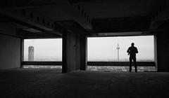 (Lys de Kerk) Tags: blackandwhite concrete eos sigma wideangle turm afe sigma1020 450d canoneos450d afeturm