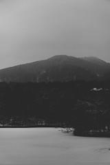 Grey (Adi Berger Photo) Tags: winter blackandwhite bw lake snow cold freeze romania transylvania sovata sonya6000 sonyilce6000