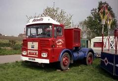 Guy Big J4T, YCP 902R (ergomammoth) Tags: guy truck lorry trucks artic articulated lorries leylanddiesel guybigj4t gardnerdiesel motorpanelscab fairgroundtransport showmanstransport amusementcaterers guymotorsltdwolverhampton britishleylandtruckbusdivision jwhatwellssatelliteride