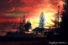 The red Sea (... Knight Production ...) Tags: red sea lake reflection tree art water river out outside pond artwork scenery scenic cable pines shore knight production about seashore outandabout pinetrees waterreflection theredsea hooppine cableknight knightproduction