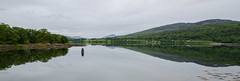 Scotland (Igor Sorokin) Tags: uk travel panorama lake reflection green wet water clouds landscape mirror scotland nikon europe zoom unitedkingdom scenic symmetry hills telephoto nikkor dslr 18300 d7000