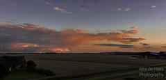 DSC_6679_Lr-edit (Alex-de-Haas) Tags: light sunset reflection netherlands clouds landscape fire licht zonsondergang nederland thenetherlands wolken dyke dijk dike landschap noordholland vuur reflectie petten coastalarea spreeuwendijk kunstgebied