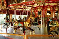 Teh Heritage Collection Carousel (Nancleve) Tags: old vacation museum carousel cape cod