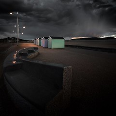 Storm Approaching... (Rep001) Tags: storm west beach clouds mare south somerset super huts weston d800 monopod