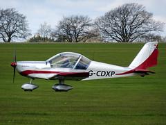 G-CDXP Aerotechnik EV-97 Eurostar cn PFA 315A-14530 Sywell 23Apr16 (kerrydavidtaylor) Tags: eurostar