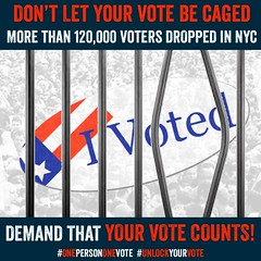 rally @ the bk board of elections, 4/20/16 (hollow sidewalks) Tags: nyc newyorkcity brooklyn politics rally activism flyers currentevents downtownbrooklyn politicalrally boardofelections hollowsidewalks nyprimaryproblems electionjusticeusa brooklynboardofelections