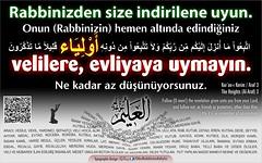 Kerim Kur'an - Araf 3 (Oku Rabbinin Adiyla) Tags: god muslim islam religion bible allah verse kuran ayet