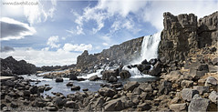 Pingvellir Falls (channel packet) Tags: fall water river iceland plates geology davidhill