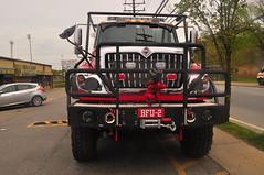 FDNY BFU-2 (Triborough) Tags: ny nyc newyork newyorkcity richmondcounty statenisland chelsea fdny newyorkcityfiredepartment firetruck fireengine brush fire unit brushfireunit2 bfu bfu2 international brushtruck kme
