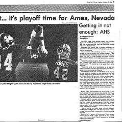 1986 AHS Football scanned newspaper article p025 dated October 28 1986 (ameshighschool) Tags: school sports newspaper football classmate classmates iowa scan highschool 1986 clipping highschoolreunion classreunion schoolmates schoolmate ahs athelete amesiowa ameshighschool ahsaa ahs1987 ameshighschoolalumniassociation ahs1986 ameshighclassof1986 ameshighclassof1987 1986ahs ahs1988 ameshighclassof1988 1987ahs 1988ahs